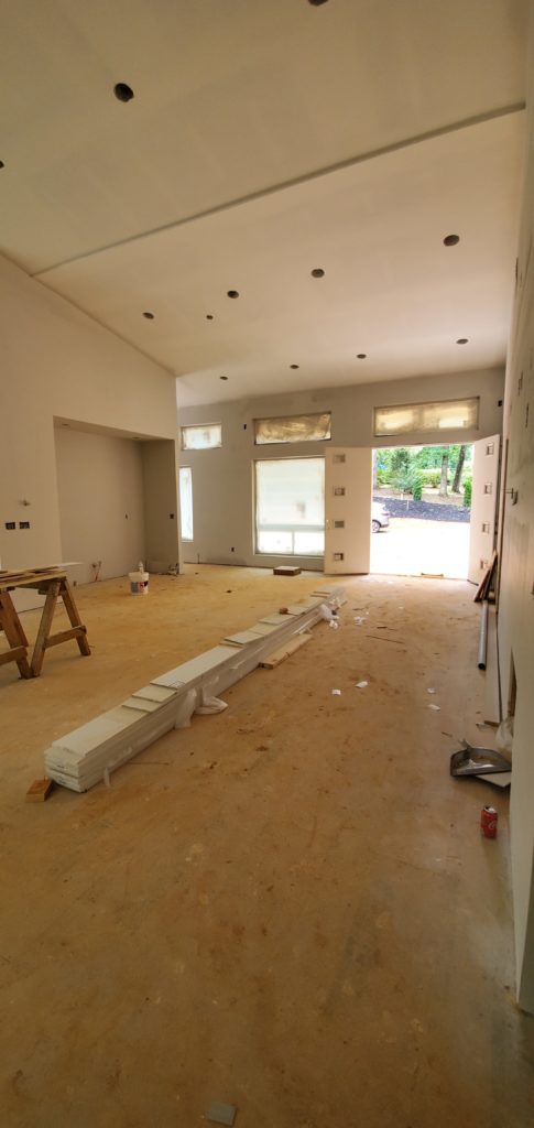 Front Entry into Living Room